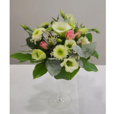 Bouquet Flowers in a glass (2)