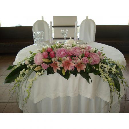 Bouquet Flowers on the presidium