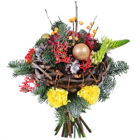 Bouquet New Year\'s miracle