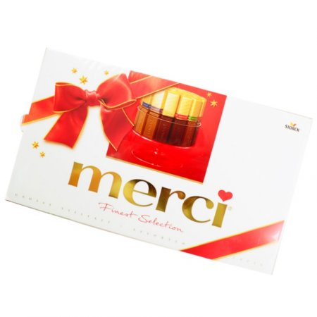 Bouquet Christmas candy Merci 400 g
