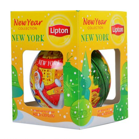 Product New Year Lipton tea New York