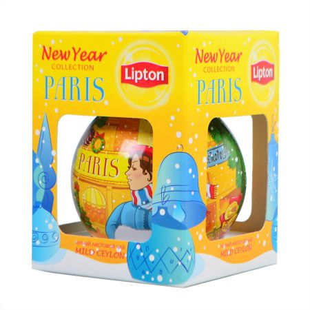 Product New Year Lipton tea Paris