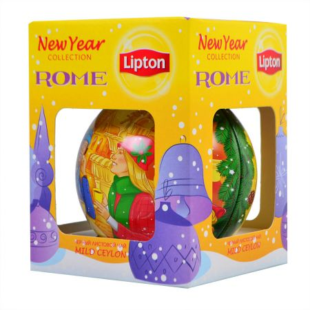 Product New Year Lipton tea Rome