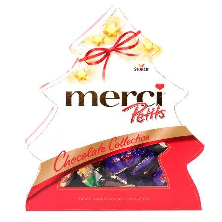 Bouquet Christmas candy set Merci