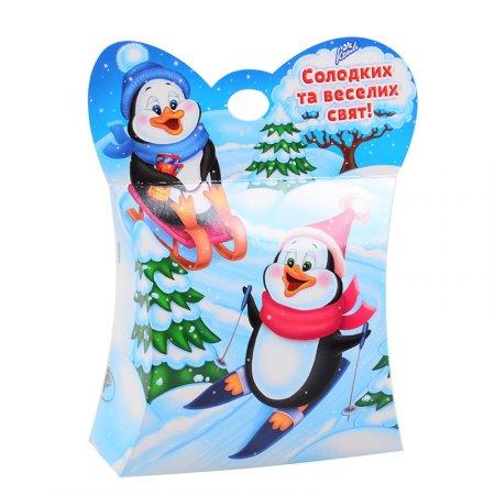 Bouquet Christmas candy set Penguins