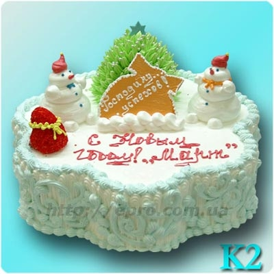 Product New Year\'s cake
