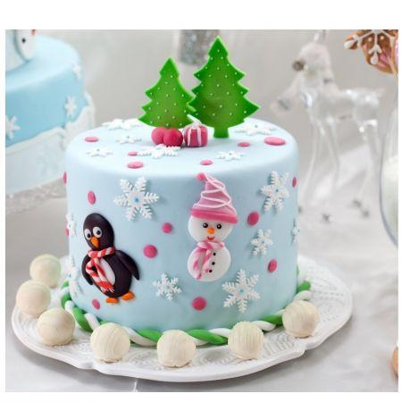 Product Christmas cake «Fir trees»