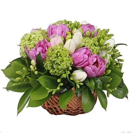 Bouquet Emerald basket