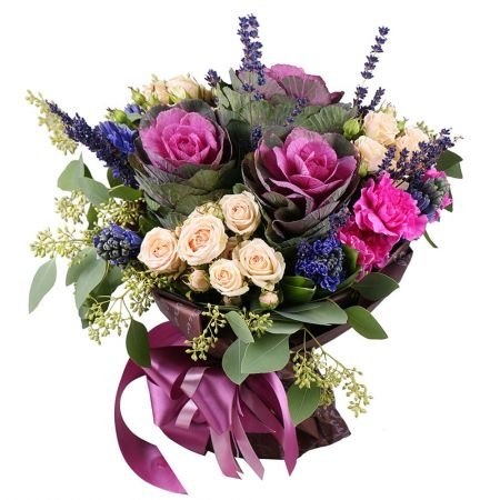 Bouquet of Purple Colors