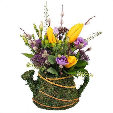 Bouquet Flower Kettle