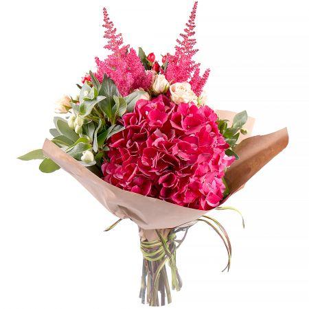 Bouquet Pink corundum