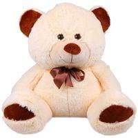 Milky beige teddy bear