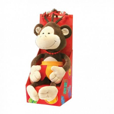 Order gift Set with soft toy - Monkey Lila with international delivery to any city