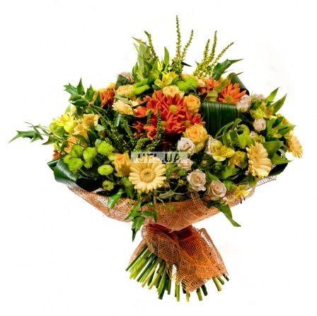 Bouquet Sunny autumn