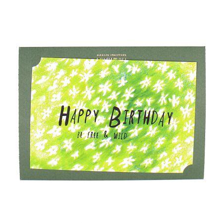 "Product Postcard \""Happy Birthday!\"""