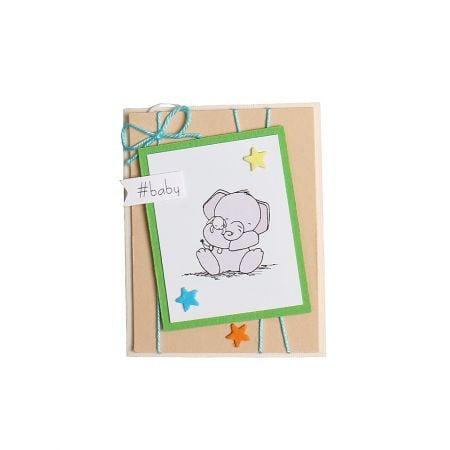 Bouquet Postcard Baby