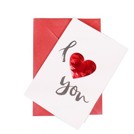 Product Card I love you