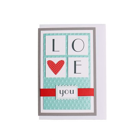 Product Postcard LOVE YOU