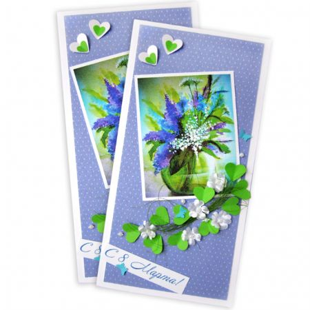 Product Greeting card on March 8