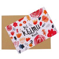 Product Postcard All flowers for you