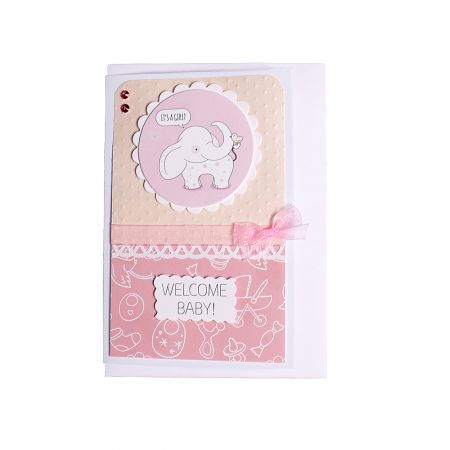 Product Welcome Baby Card