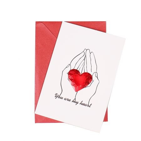 Product Card You are my heart