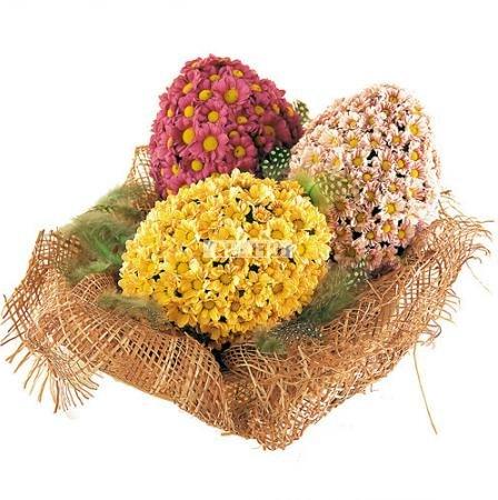 Bouquet Easter eggs