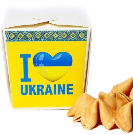 Product Cookies: I love Ukraine