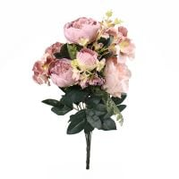 Artificial peony lilac | order with delivery from UFL