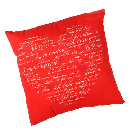 Product Pillow I love you