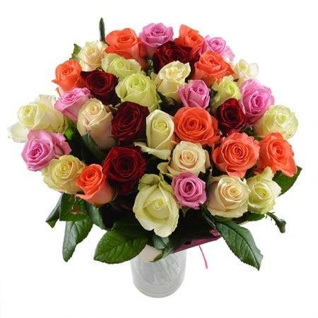 Bouquet Colorful rose 50cm
