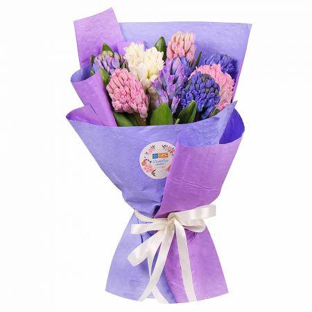 Bouquet Mix of hyacinths