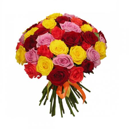 Bouquet Multicolored rose 25 pc