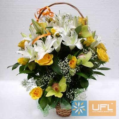 Order the funeral basket to any city