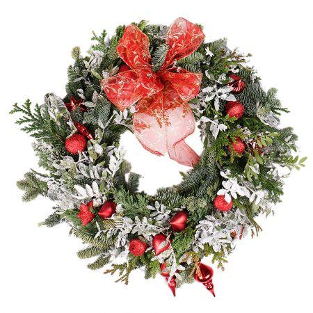 Product Christmas wreath Mistletoe