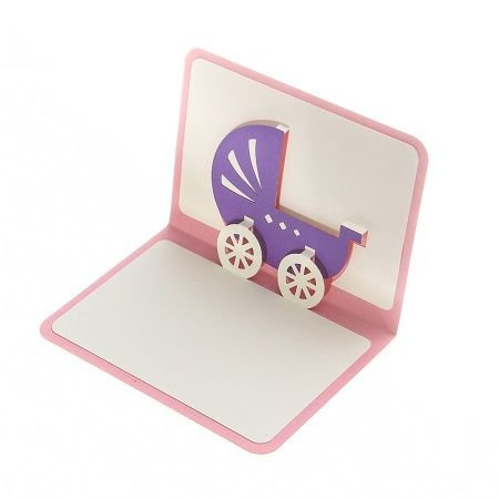Product New Baby Girl Greeting Card