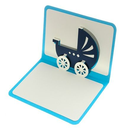 Product New Baby Boy Greeting Card