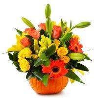 Bouquet Happy Pumpkin
