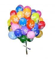 35 Helium Balloons \