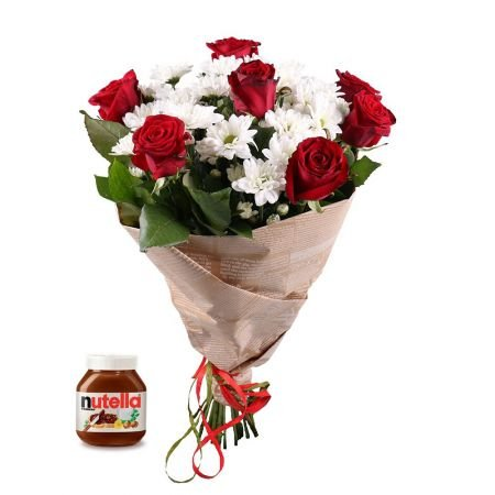 Bouquet Chic + nutella