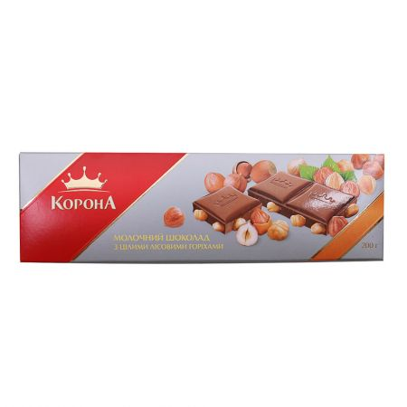 Buy milk chocolate ''Korona'' with delivery to any destination