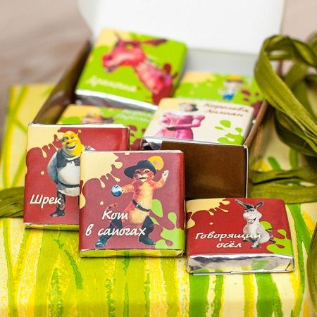Order a chocolate set ''Shrek'' with delivery to any city in Ukraine and worldwide