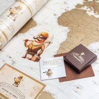 Order marvelous Scratch Map: My Antique Map with delivery