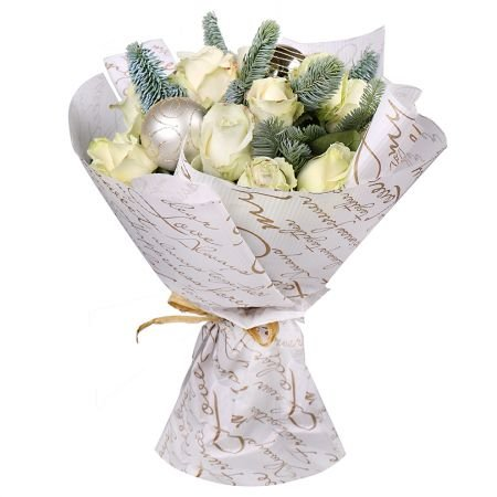 Bouquet Golden snowflake
