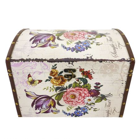 Order vintage chest ''Flowers'' with delivery to any destination
