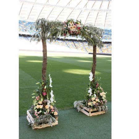 Bouquet Wedding arch \