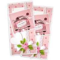 ORder wedding greeting card in soft tones with delivery to any city