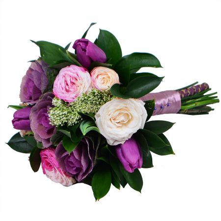 Bouquet Pink-and-purple