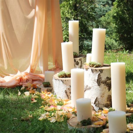 Product Candles for wedding