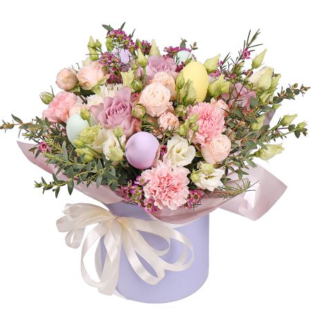 Bouquet Happy Easter box